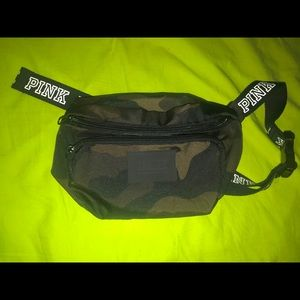 VS PINK army fatigue fanny back/ crossbody bag